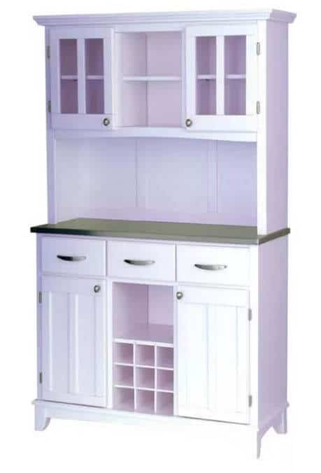 White Hutch for craft room