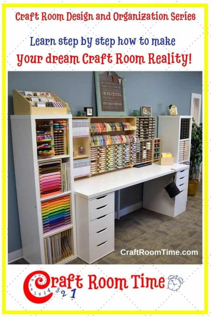 Craft Room Design and Organization Series