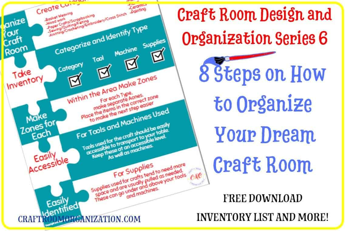 8 Steps on How to Organize Your Dream Craft Room