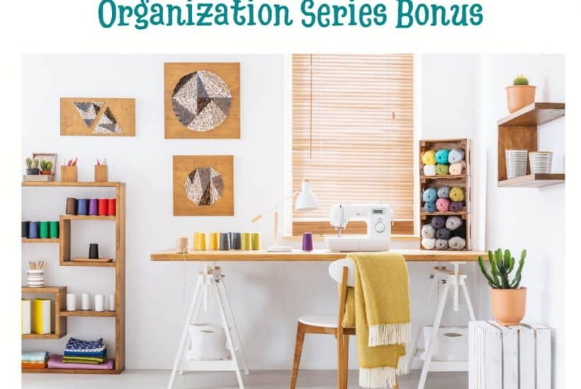 Craft Room Organization Design Series