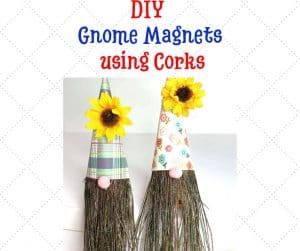 DIY Gnome Magnets