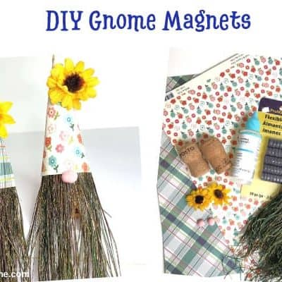 DIY Gnome Magnets