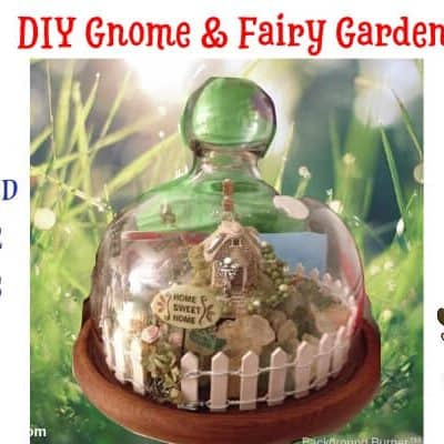 DIY Gnome and Fairy Gardens