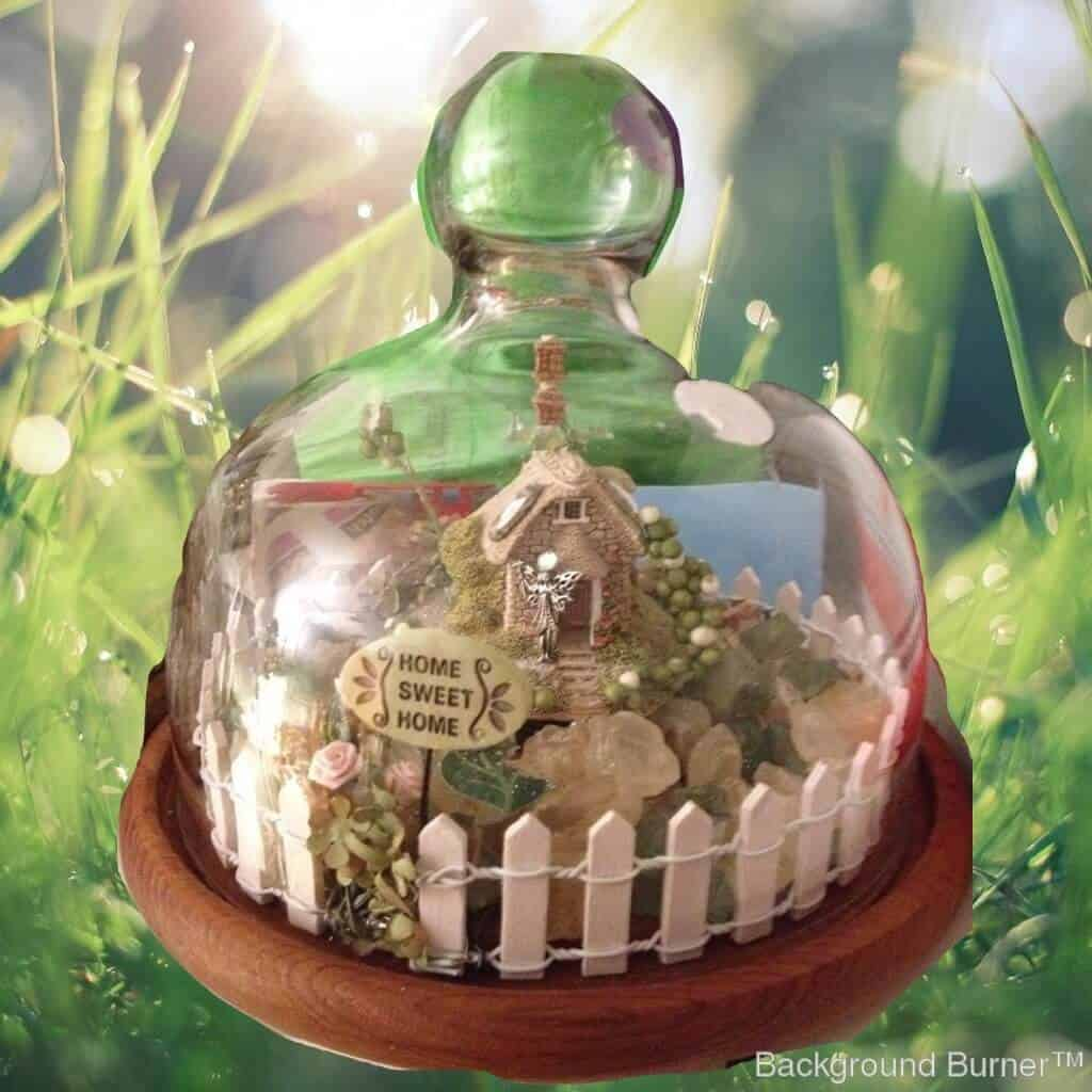 Miniature Gnome and Fairy Garden Making and Sending Gifts for Mother's Day