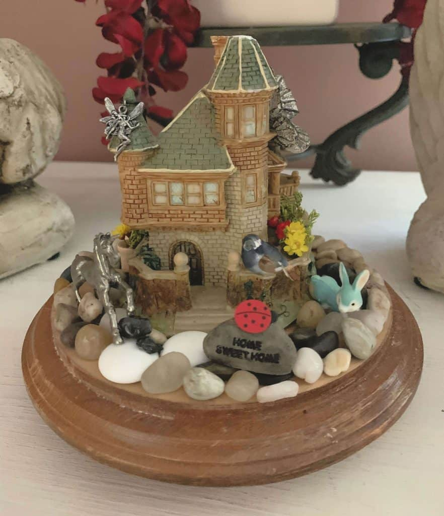 Miniature Gnome and Fairy Garden