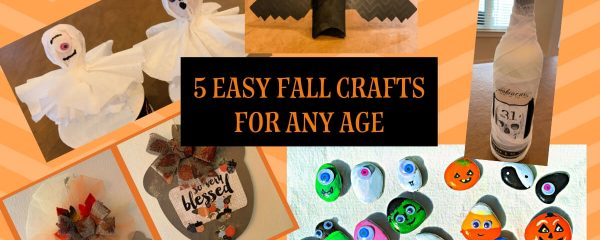 5 Easy Fall Crafts for Kids