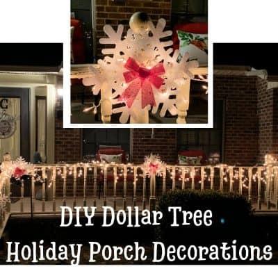 DIY Dollar Tree Porch Decorations