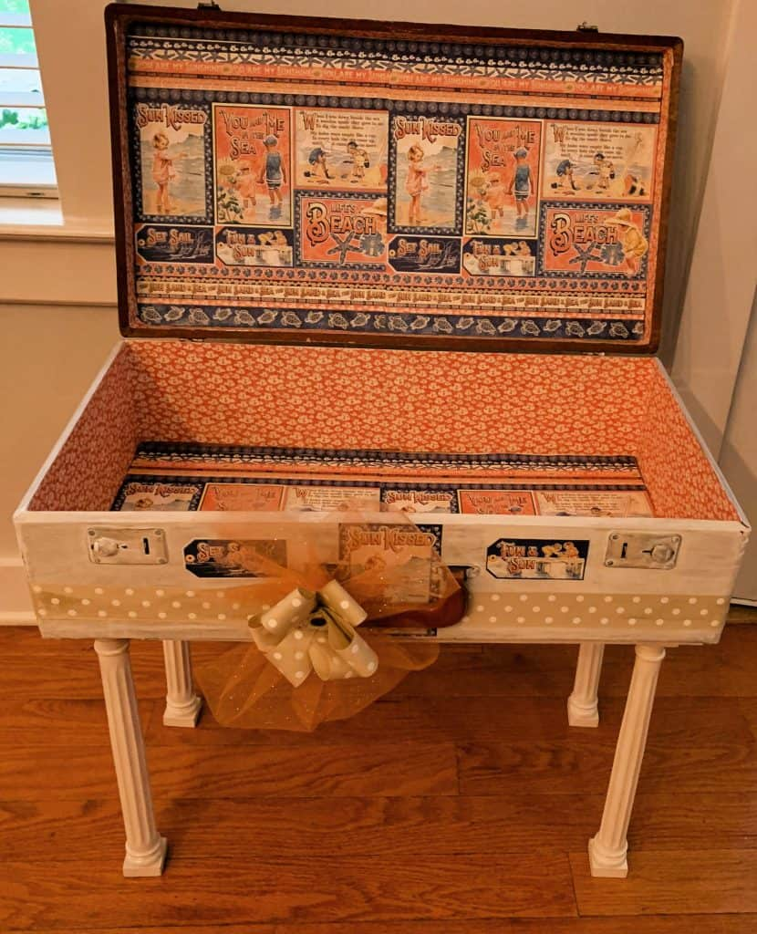 Vintage Suit Case Table