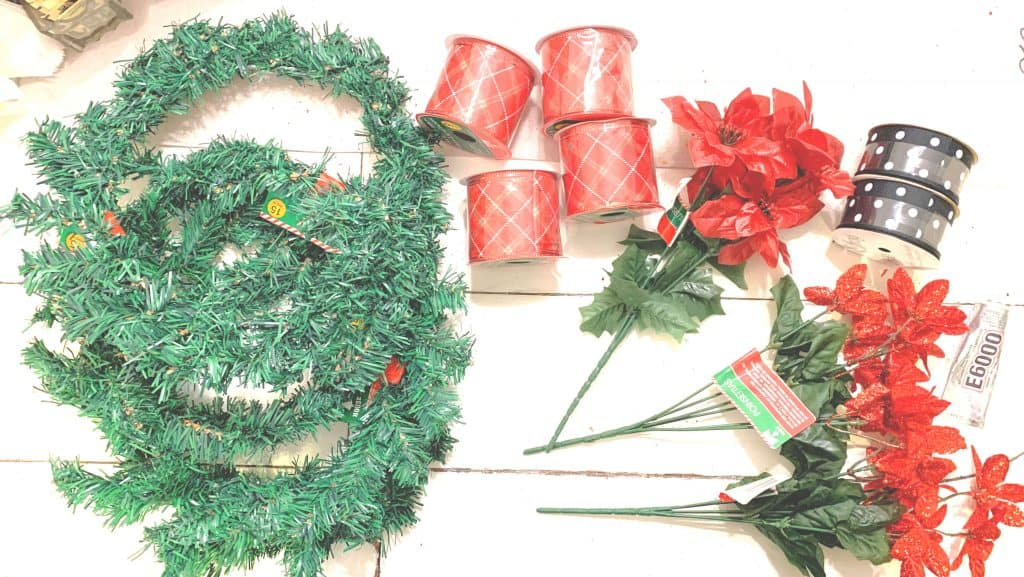 Dollar Tree Wreath Supplies