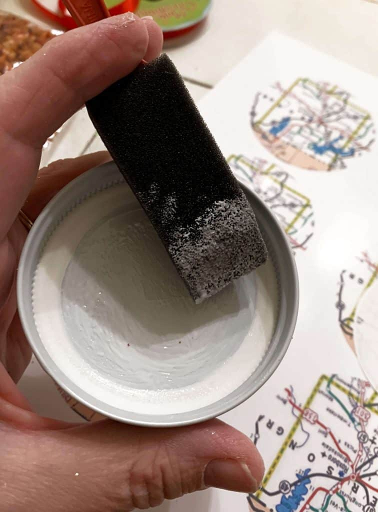 Glue Inside the Lid