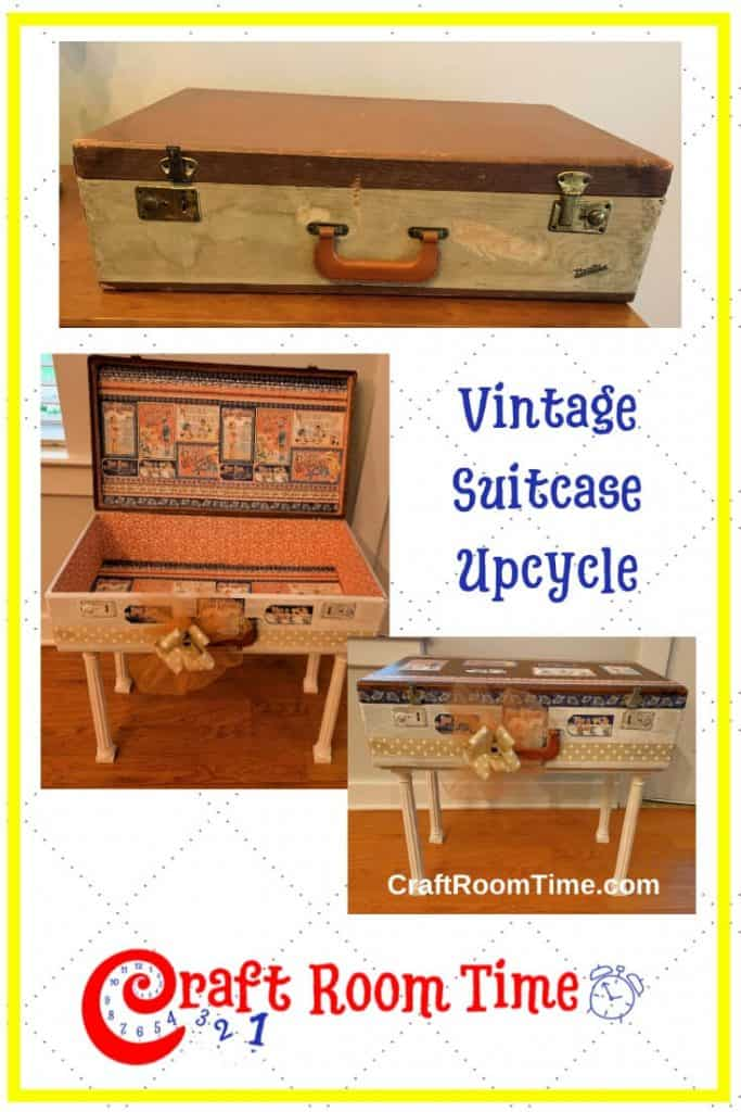Vintage Suit Case Upcycle