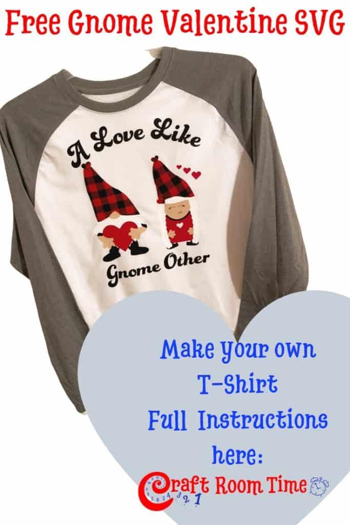 Valentine Gnomes Free SVG