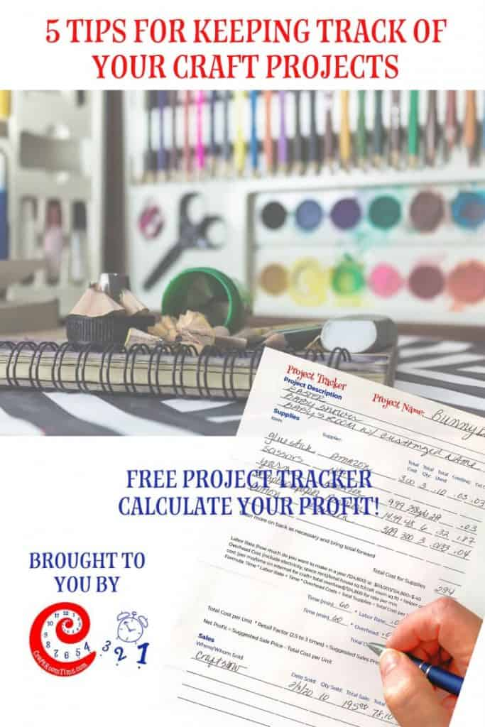 5 Tips for Keeping Track of Your Craft Projects