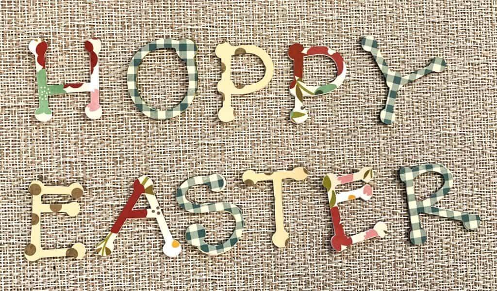 Hoppy Easter Letters