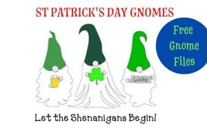 St Patrick's Day Gnomes