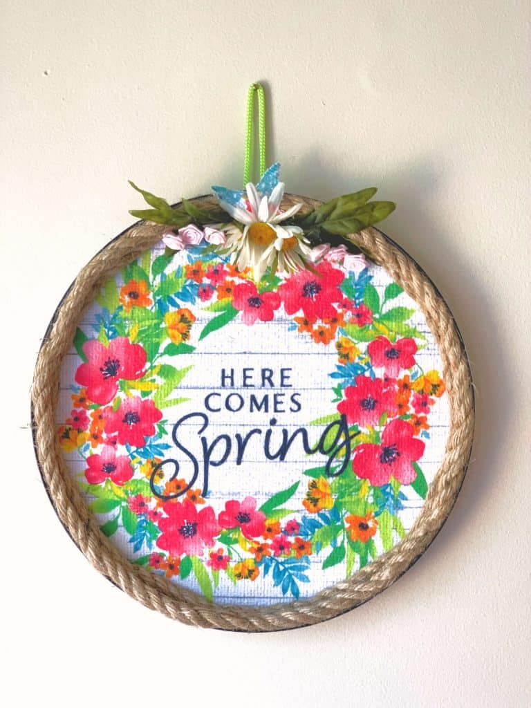 Dollar Tree Spring Wreaths