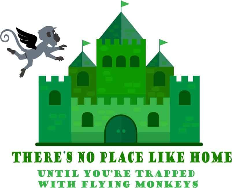 Quarantine Free SVG Flying Monkeys for Cricut