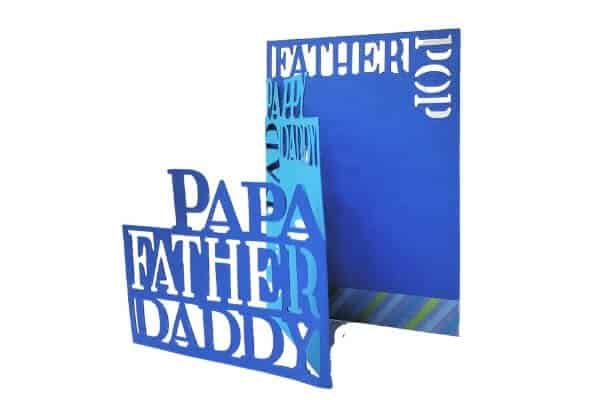 Fun Father's Day Card to make with Cricut