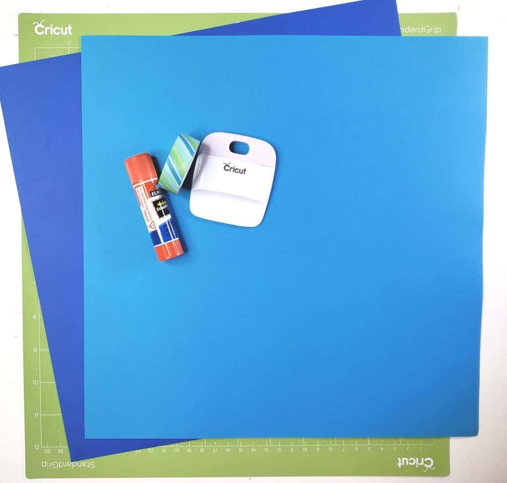 Supplies for Father's Day Card
