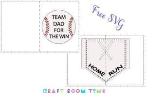 Baseball Card for Dad