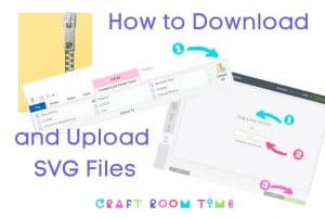 How to Download and Upload SVG files