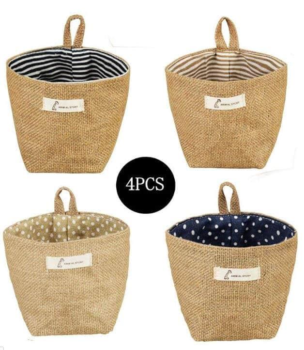 Peg Board Linen Bags