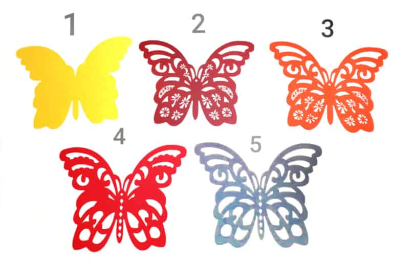 Butterfly 3D Mandala Free SVG