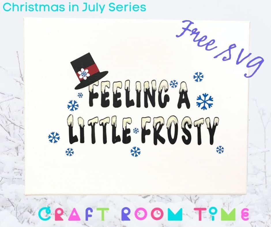 Feeling a Little Frosty