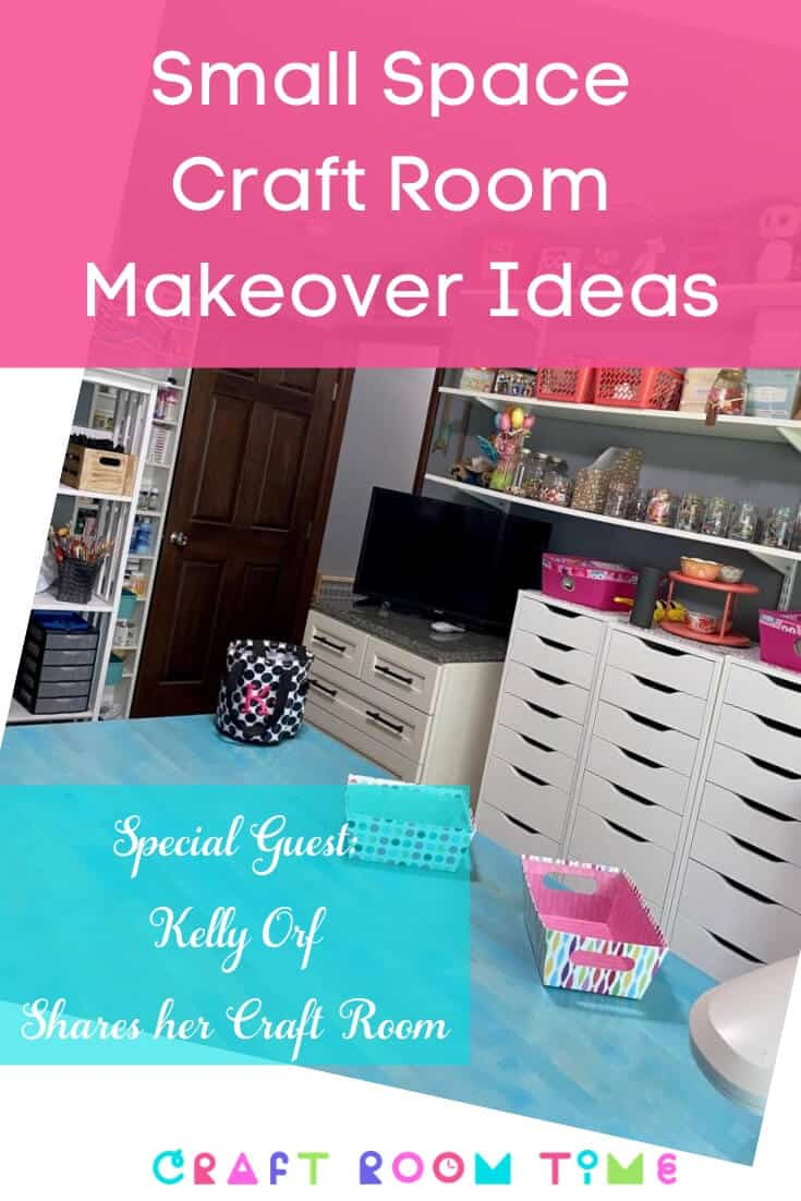 Small Space Craft Room Makeover