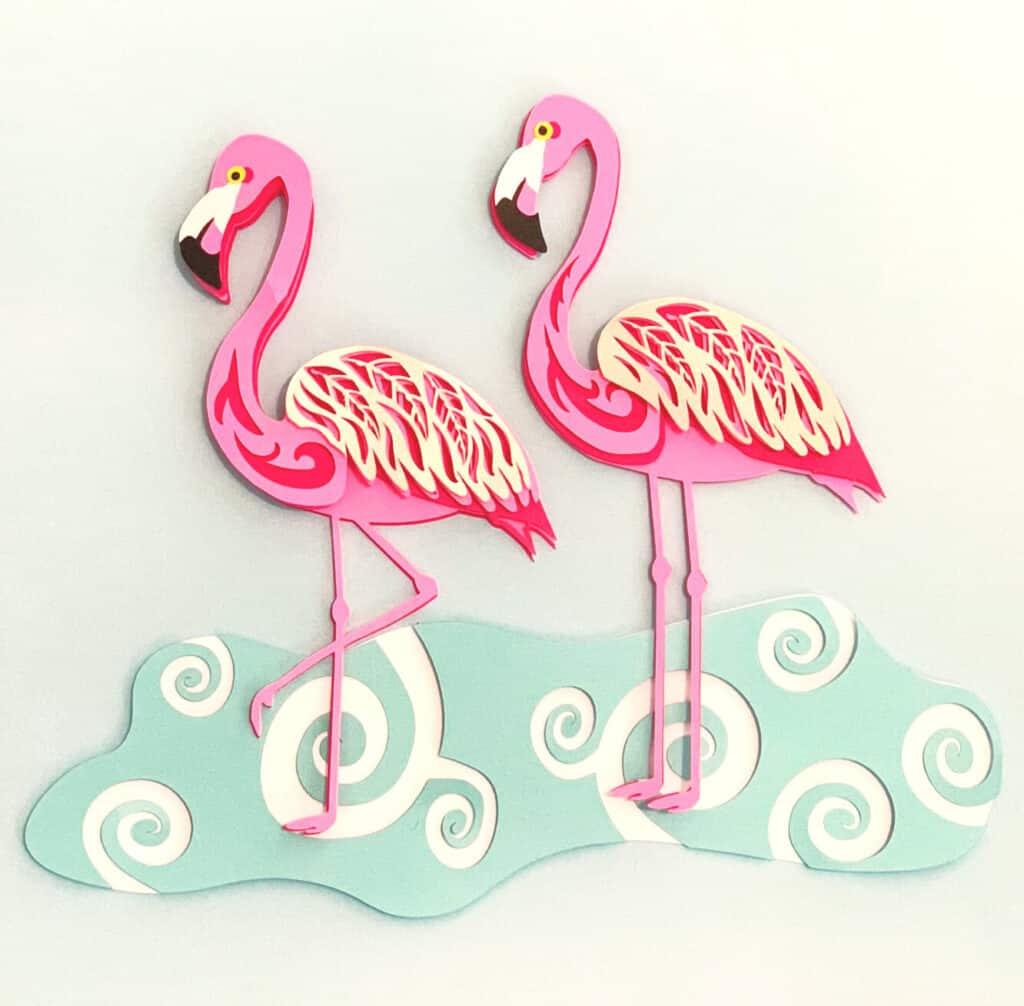 Free Flamingo SVG