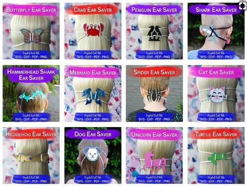 Mask Ear Savers for Kids