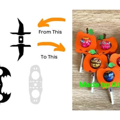 Halloween Lollipop Holders Free SVGs