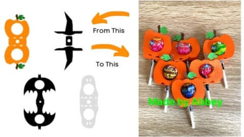 Halloween Lollipop Holders Free SVGs