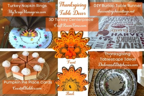 Table ideas for Thanksgiving