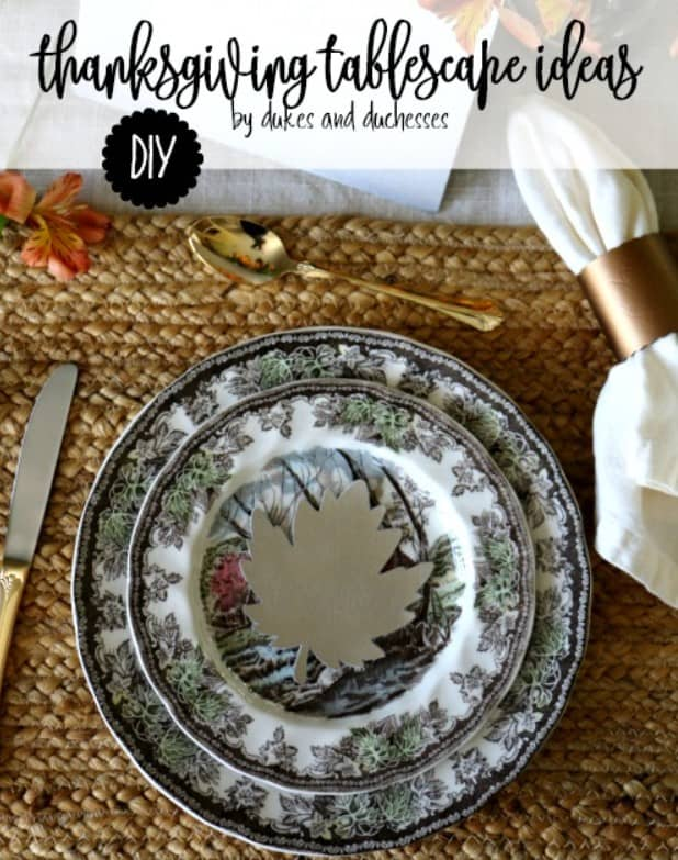 Tablescape Ideas for Thanksgiving