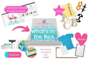 Box Contents for Crafting Made Easy