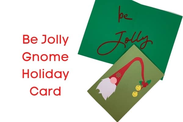 BE Jolly Holiday Card