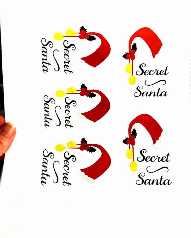 Secret Santa Fronts