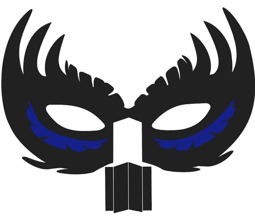 New Years Layered Mask