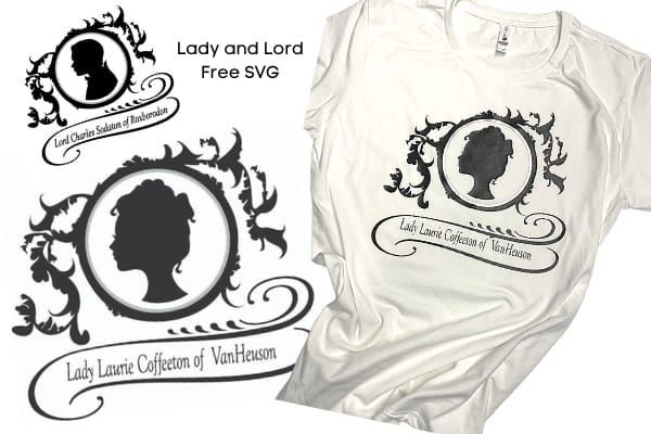 Make Your Own Lady and Lord Bridgerton with Free SVG