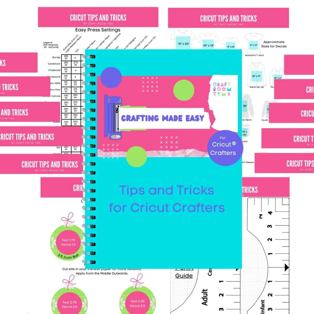 Cricut Tips, Tricks and More