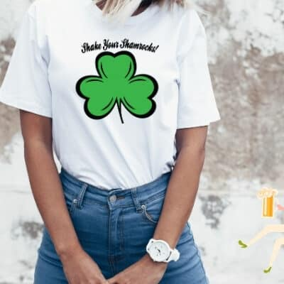 Shake your shamrocks free SVG