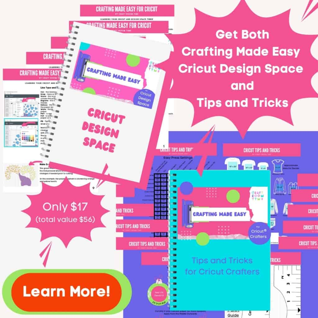 Cricut Design Space made easy and Cricut tips tricks and more