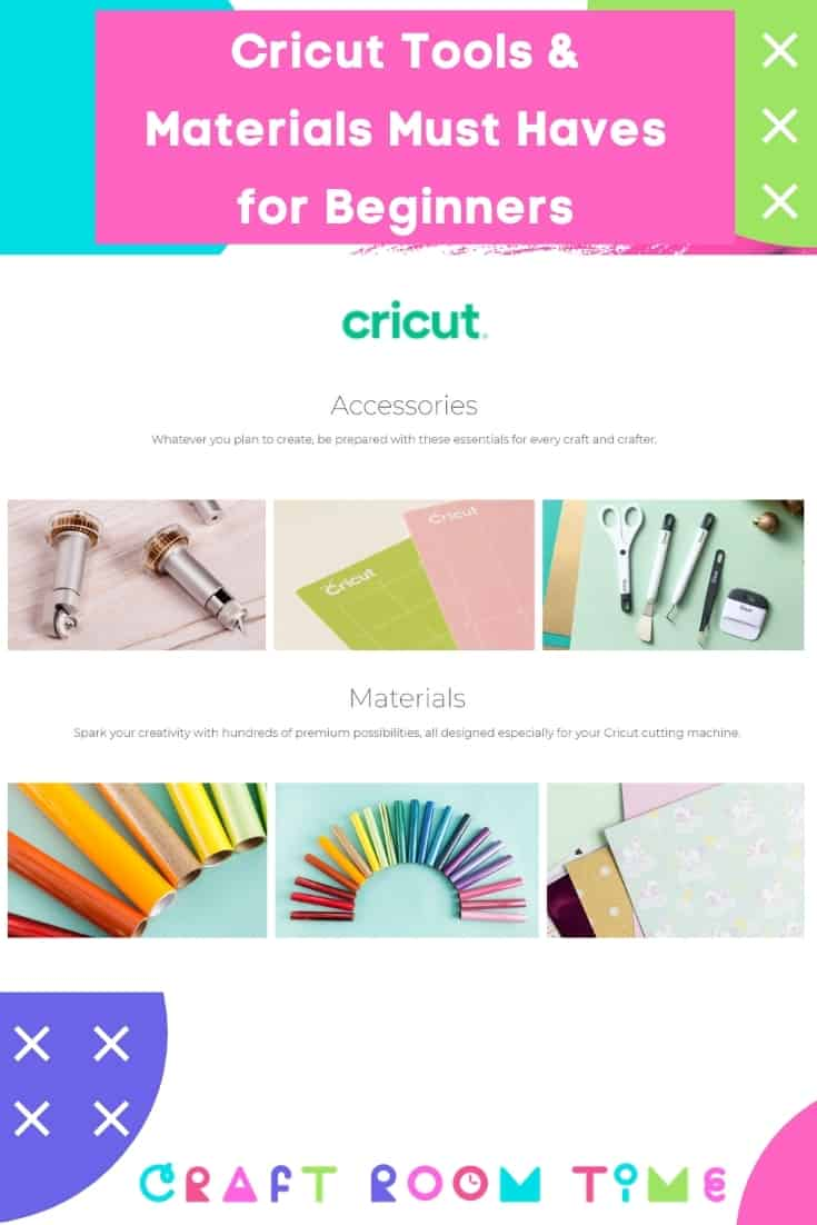 Cricut Tools & Materials Must Haves for Beginners