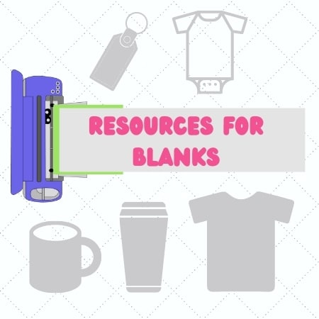 Resources for Blanks for Crafting