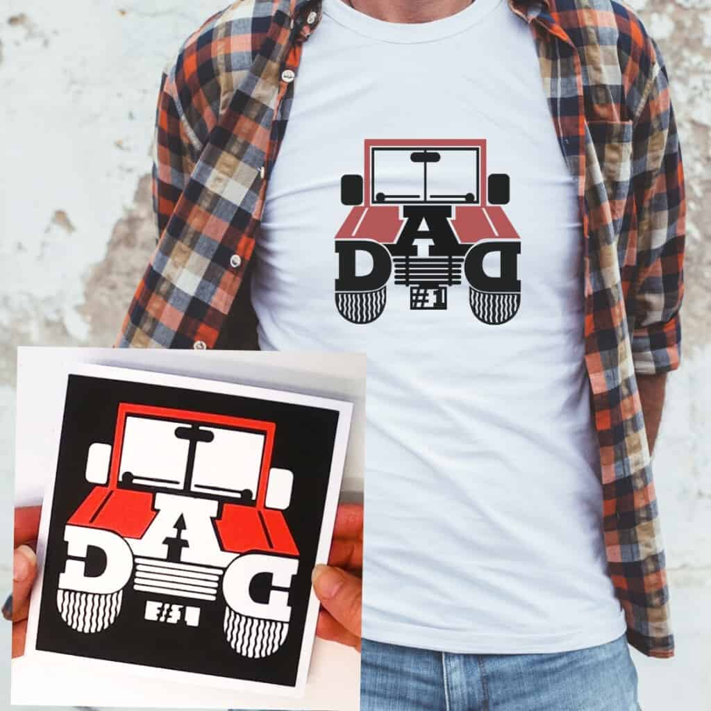 Make a Jeep Dad Card or T-Shirt with Our Free SVG