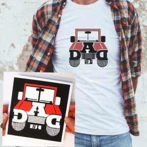 Make a Jeep Dad Card and T-Shirt with Our Free SVG